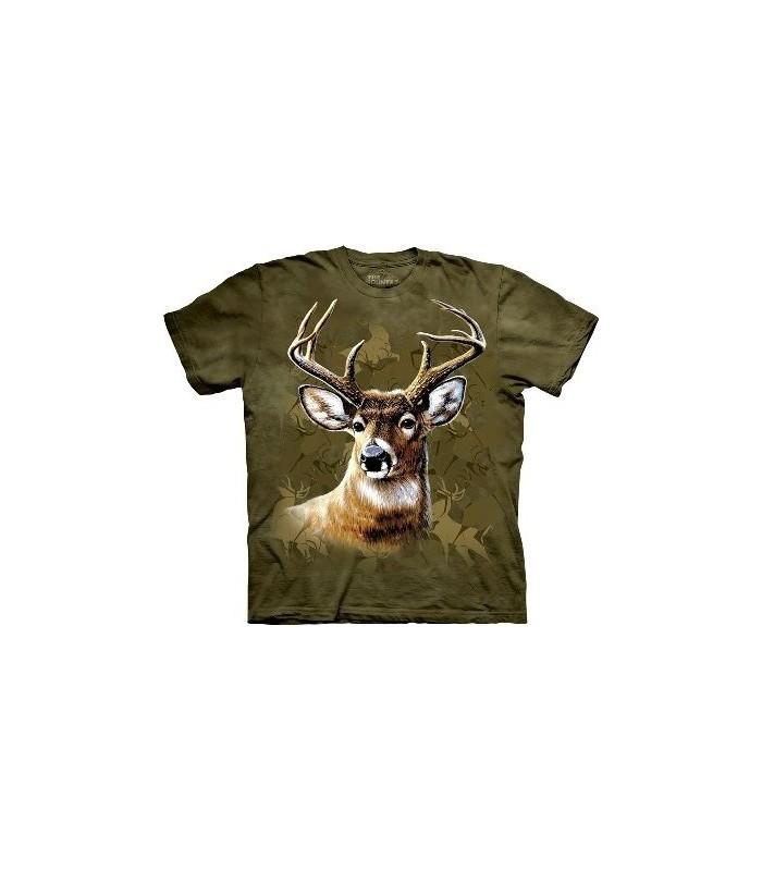 Camo Deer - Zoo Animals T Shirt by the Mountain