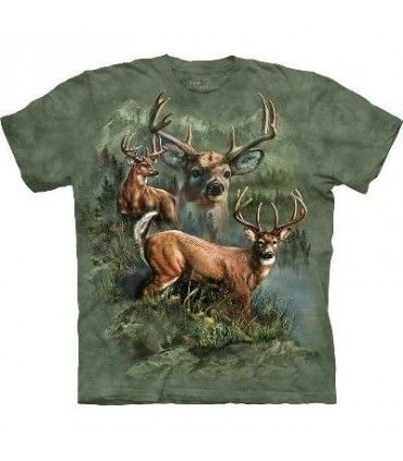T-Shirt groupe de Cerfs par The Mountain