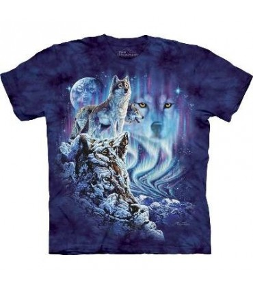 Trouver 10 Loups - T-shirt Loup The Mountain