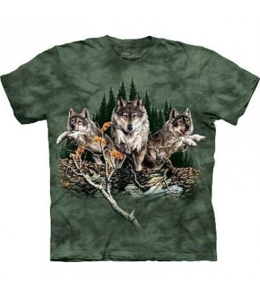 Find 12 Wolves - Wolf T Shirt Mountain