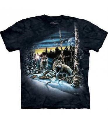 Trouver 13 Loups - T-shirt Loup The Mountain