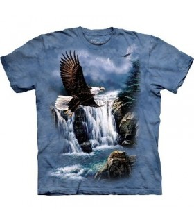 Majestic Flight - Birds Shirt Mountain
