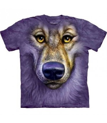 T-Shirt Loup Amical par The Mountain