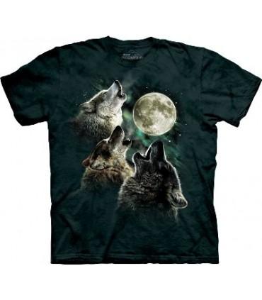 T-Shirt Loups Lumineux par The Mountain