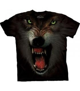 Grrrrrrrrr - Wolf T Shirt by the Mountain