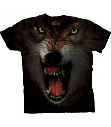 Grrrrrrrrr - Wolf T Shirt by the Mountain