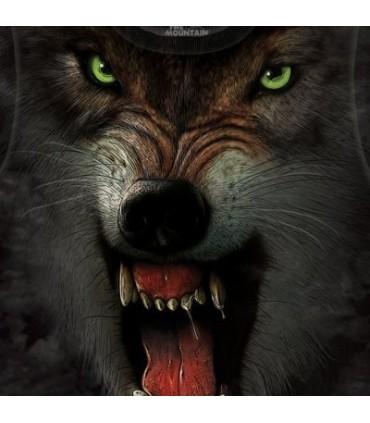Grrrrrrrrr - T-Shirt Loup par the Mountain