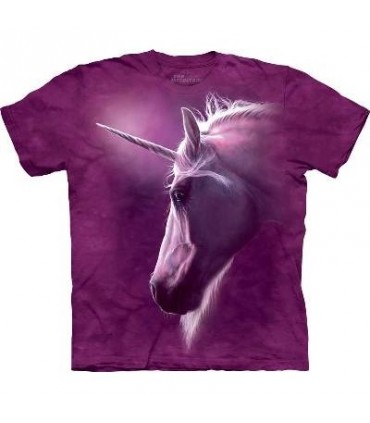 Divine Unicorn - Fantasy T Shirt by the Mountain