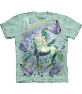 T-Shirt Licorne et Papillons par The Mountain