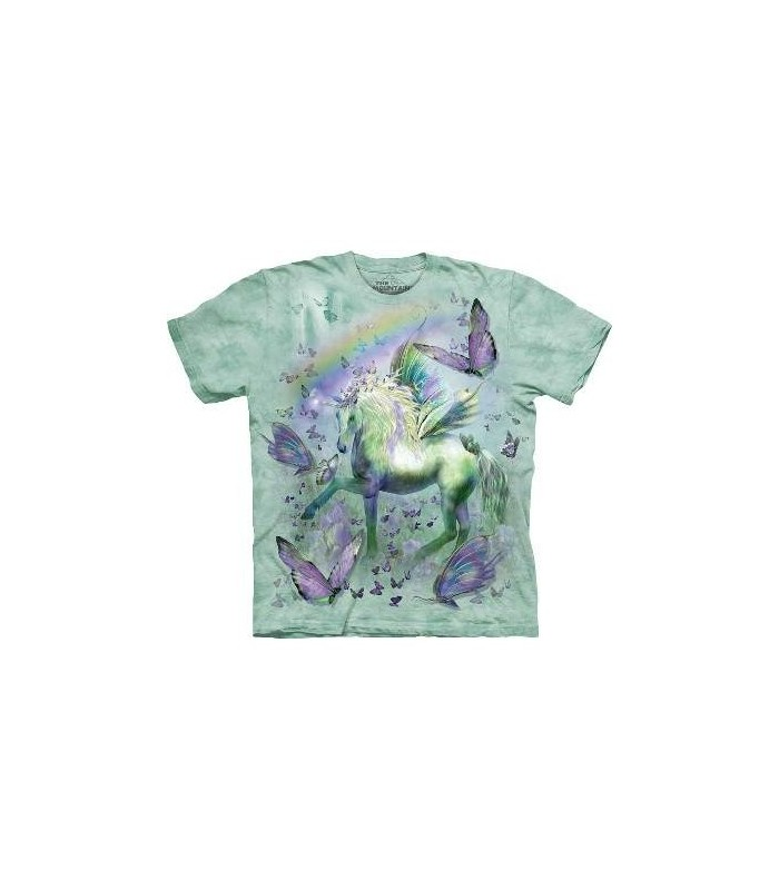 T-Shirt Licorne et Papillons par The Mountain