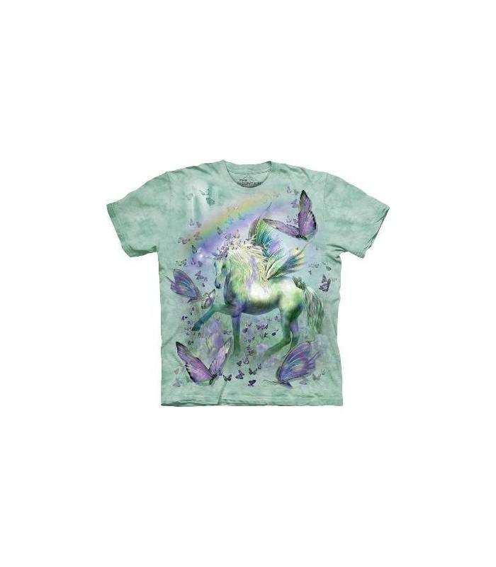 Unicorn & Butterflies - FantasyT Shirt by the Mountain