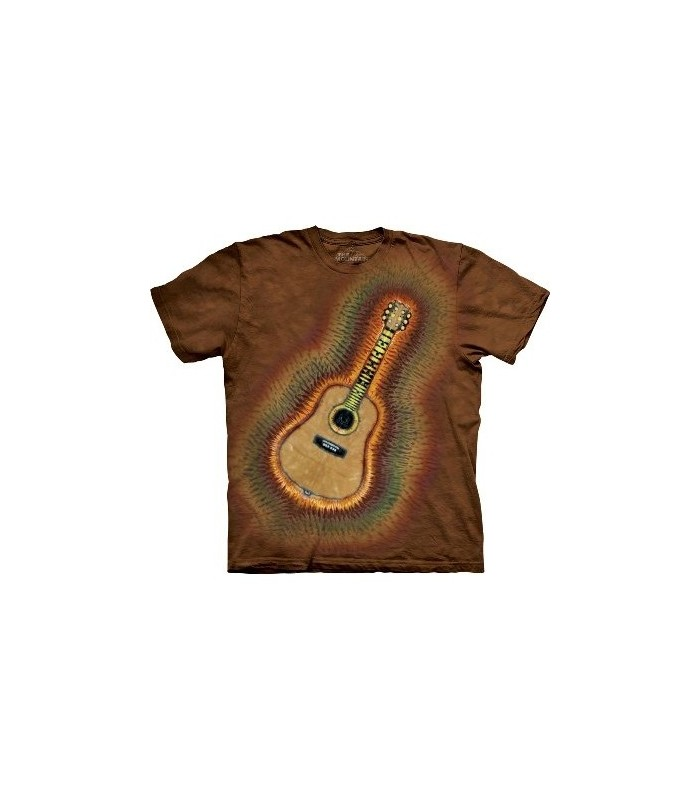 T-Shirt Guitare Acoustique par The Mountain
