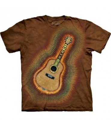 Acoustic Tie-Dye - Music T Shirt by the Mountain