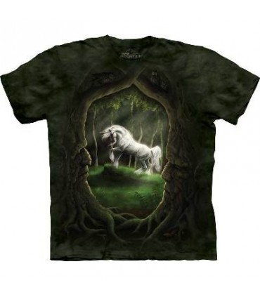 Unicorn Glade - Fantasy T Shirt by the Mountain