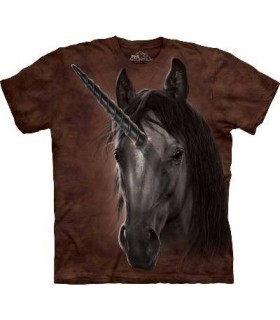 Unicorn Stallion - Fantasy T Shirt by the Mountain