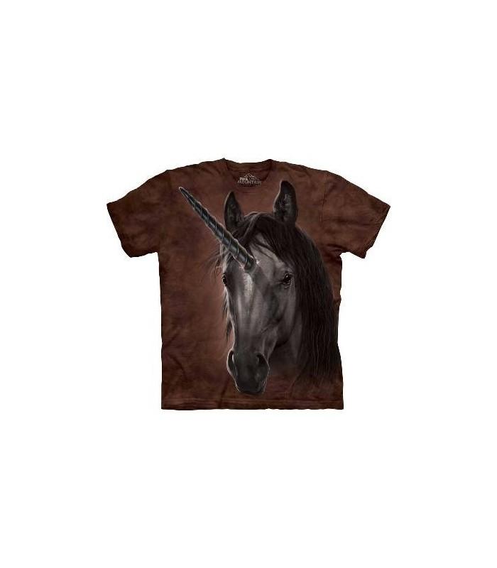 Unicorn Stallion - Fantasy T Shirt by the Mountain