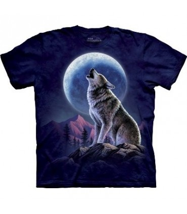 Howling - Zoo Animals T Shirt by the Mountain