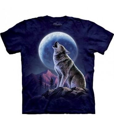 T-Shirt Hurlement du Loup par The Mountain