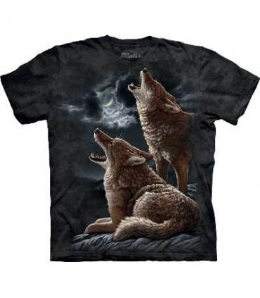 T-Shirt Coyotes hurlant par The Mountain