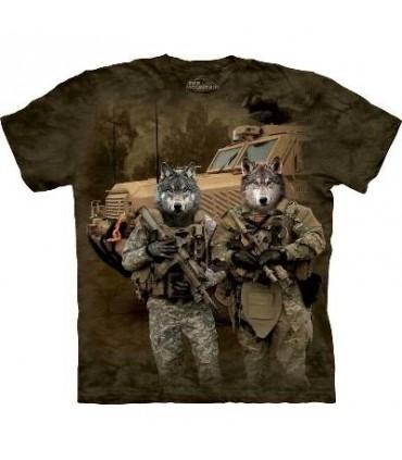 T-Shirt JTAC Wolfpack par The Mountain