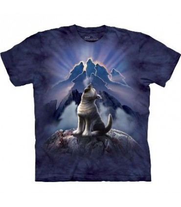 Leader of the Pack - Wolf T Shirt by the Mountain
