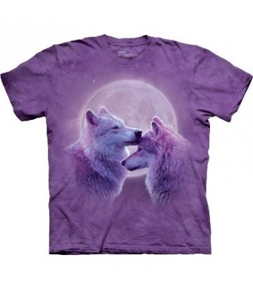 Loving Wolves - Zoo Animals T Shirt by the Mountain