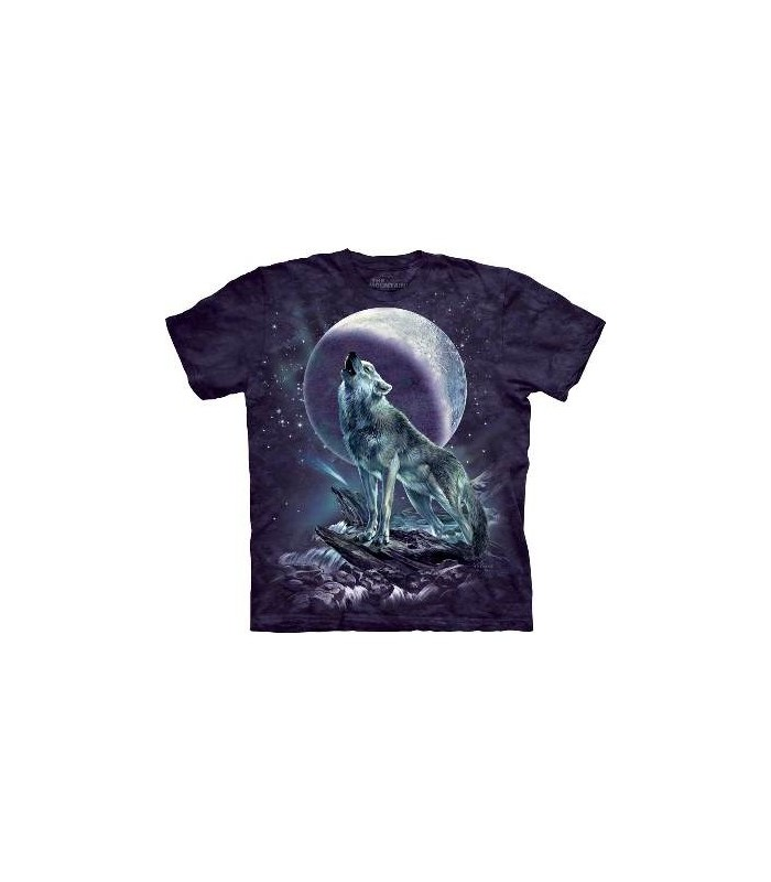 Moon Soloist - Wolf T Shirt by the Mountain