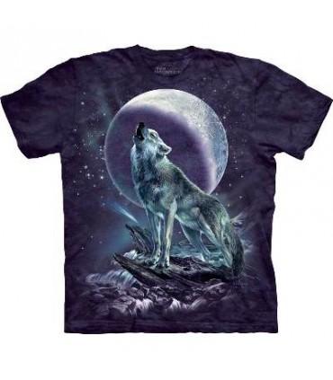 T-Shirt Loup Hurleur par The Mountain