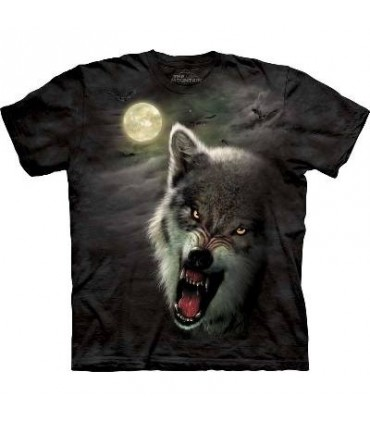 Night Breed - Wolf T Shirt by the Mountain (Evolution)