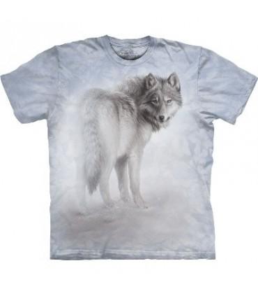 T-Shirt Loup Eclaireur par The Mountain
