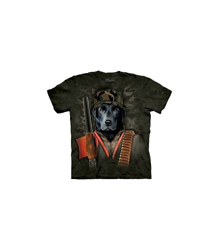 Duck Hunter - Dogs T Shirt by the Mountain