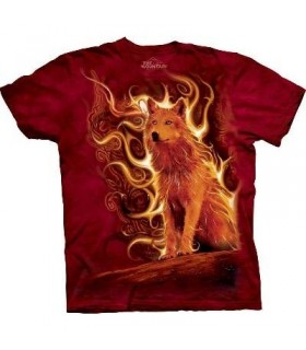 Phoenix Wolf - Wolf T Shirt The Mountain (Evolution)