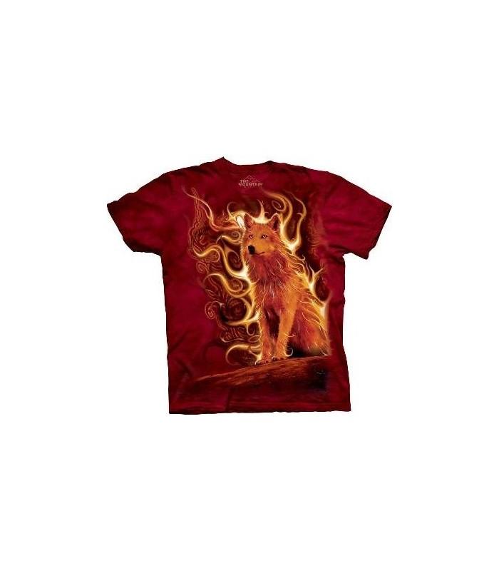 T-Shirt Loup Phoenix par The Mountain (Evolution)