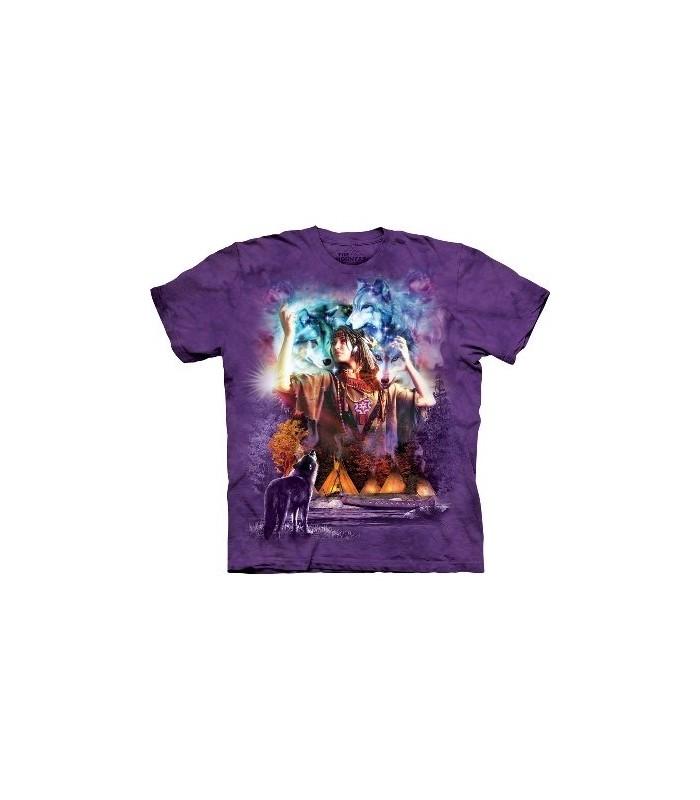 T-Shirt Esprit de jeune Fille par The Mountain