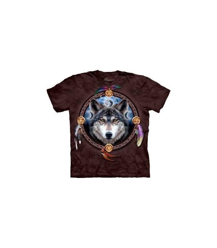 Le Guide - T-Shirt Loup par The Mountain