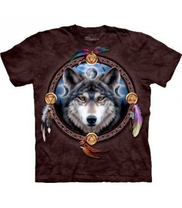 The Guide - Wolf T Shirt by the Mountain