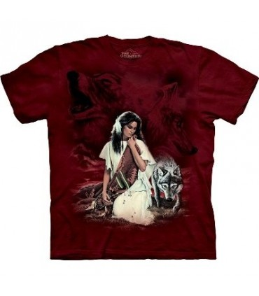 White Robe - Indians Shirt The Mountain