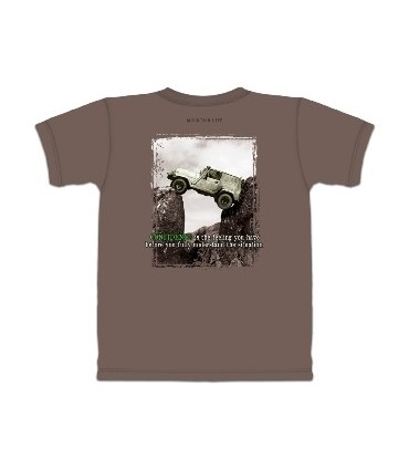 4WD Confidence - Outdoor Activity T Shirt by the Mountain
