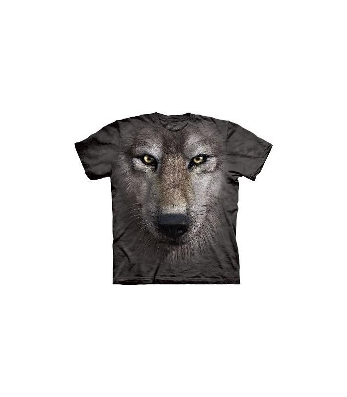 T-Shirt tête de Loup par The Mountain