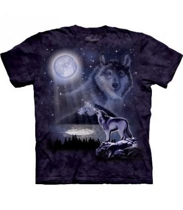 T-Shirt Lac au Loup par The Mountain