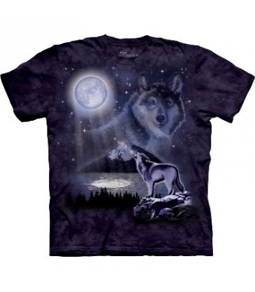 Wolf Lake - Animals T Shirt by the Mountain