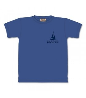 T-Shirt Perdu en Mer par The Mountain