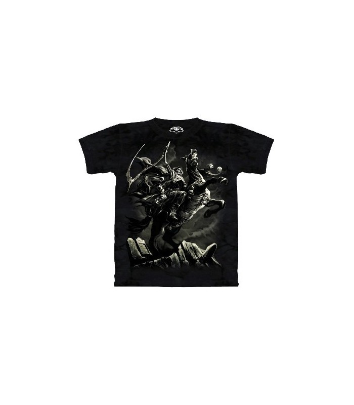 Pale Horse Glow in the Dark Fantasy T Shirt the Mountain