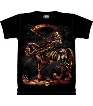 Scythe - dark fantasy T Shirt by the Mountain