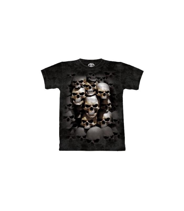 T-Shirt Crypte aux Crânes par The Mountain