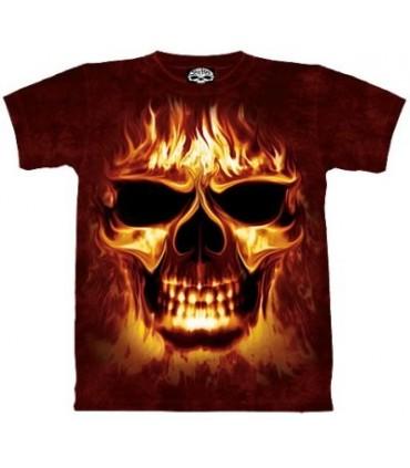 Skulfire - Fantasy T Shirt by the Mountain