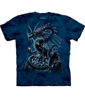 T-Shirt Dragon et Crânes par The Mountain