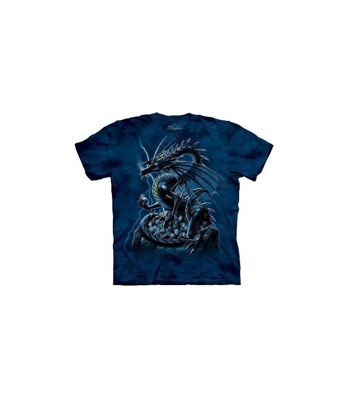 T-Shirt Dragon et Crânes par The Mountain
