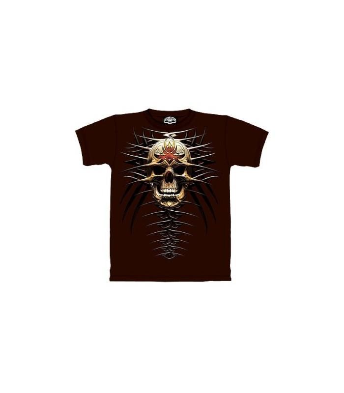 Tribal Skul - Fantasy T Shirt by the Mountain