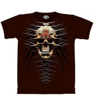 T-Shirt Crâne Tribale par The Mountain